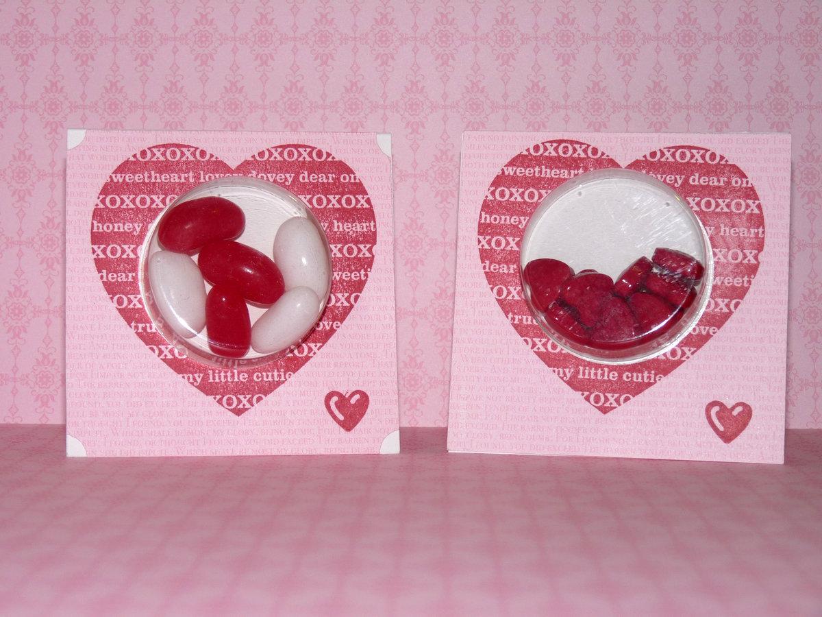 Как можно сделать открытки с конфетами, новым годом