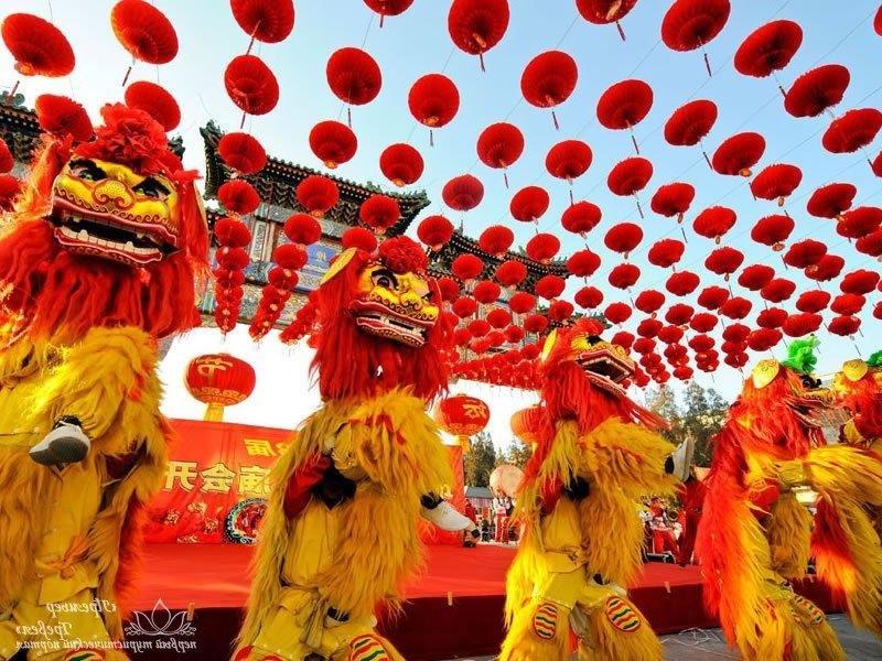 - Новый год в Пекине..