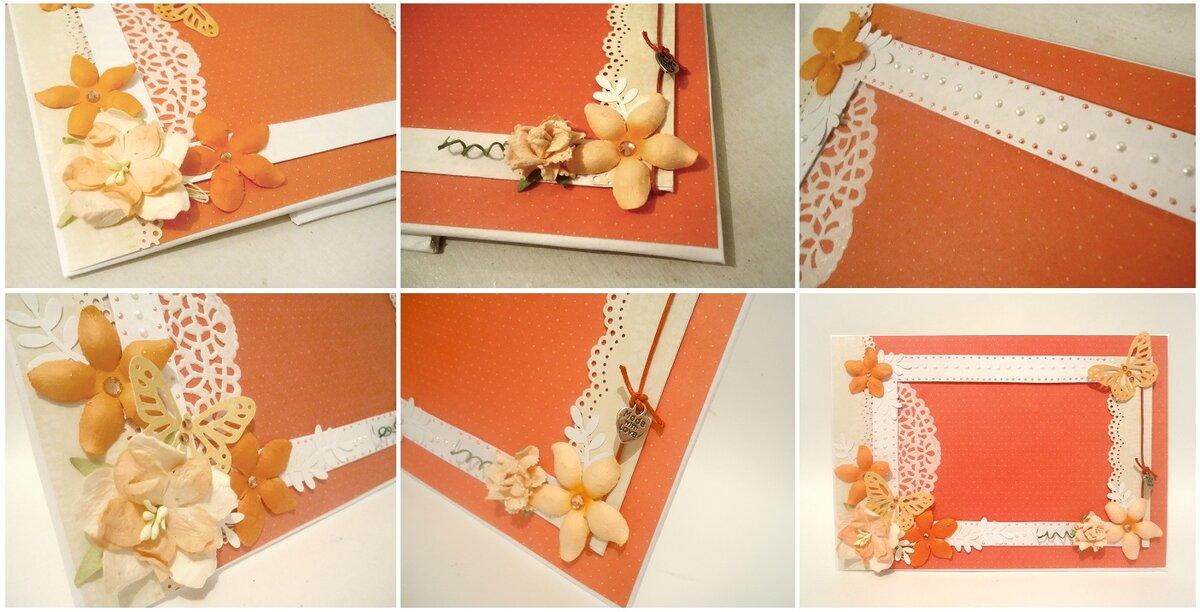 Как сделать открытку из фото рамки