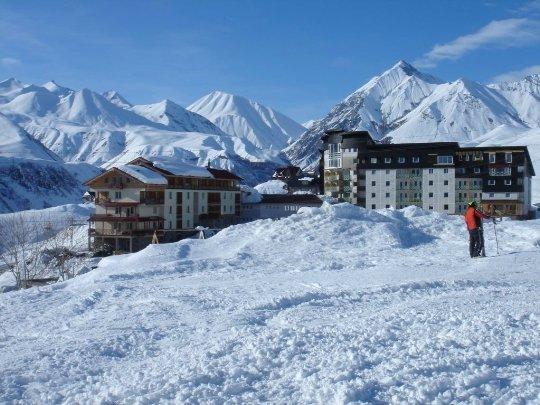 Проживание на горнолыжном курорте Грузии