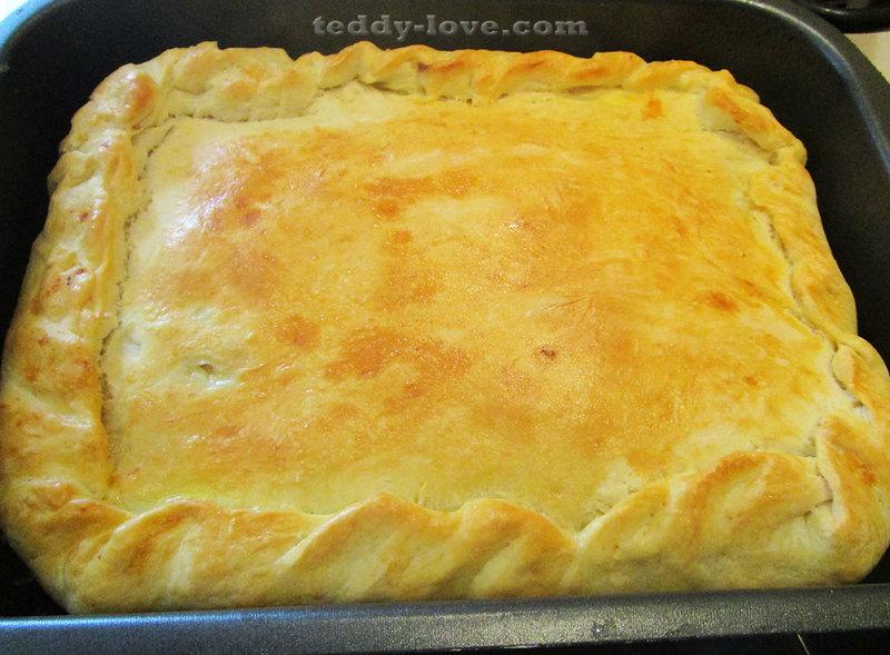 Испечь пирог в духовке рецепт фото