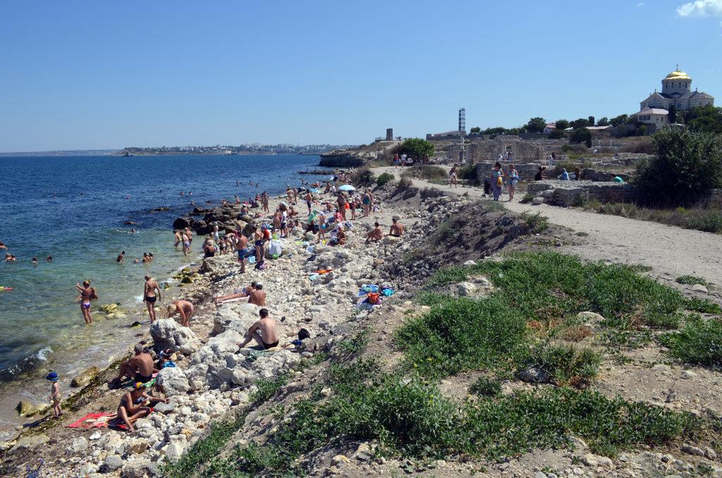 Севастополь пляж картинки