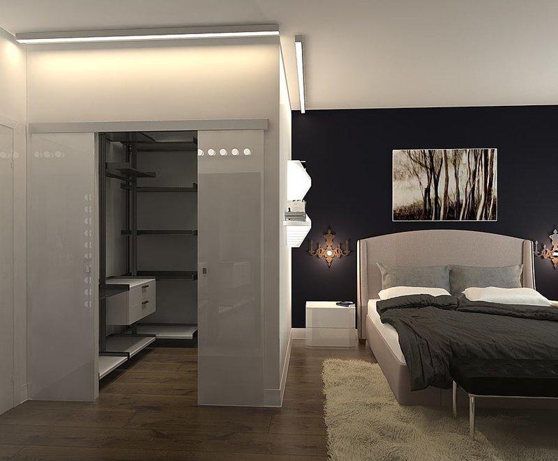 дизайн спальни 19 кв м фото