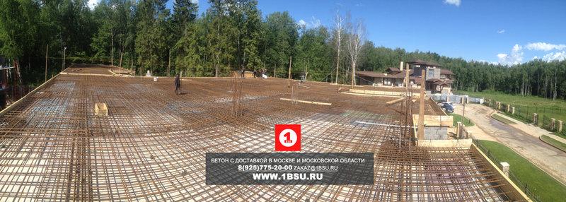 подготовка плиты перекрытия к заливке бетона М350
