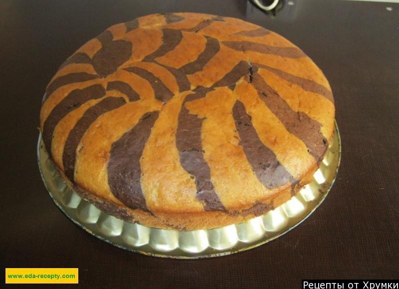вкусный торт зебра рецепт фото