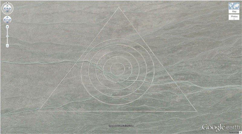 Таинственный Узор (37.629562, -116.849556) Невада, США