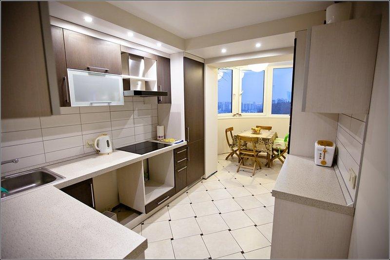 дизайн проект кухни с балконом 10 кв.м фото