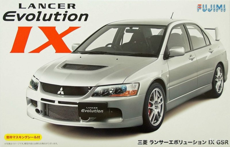 Fujimi Mitsubishi Lancer Evolution IX GSR