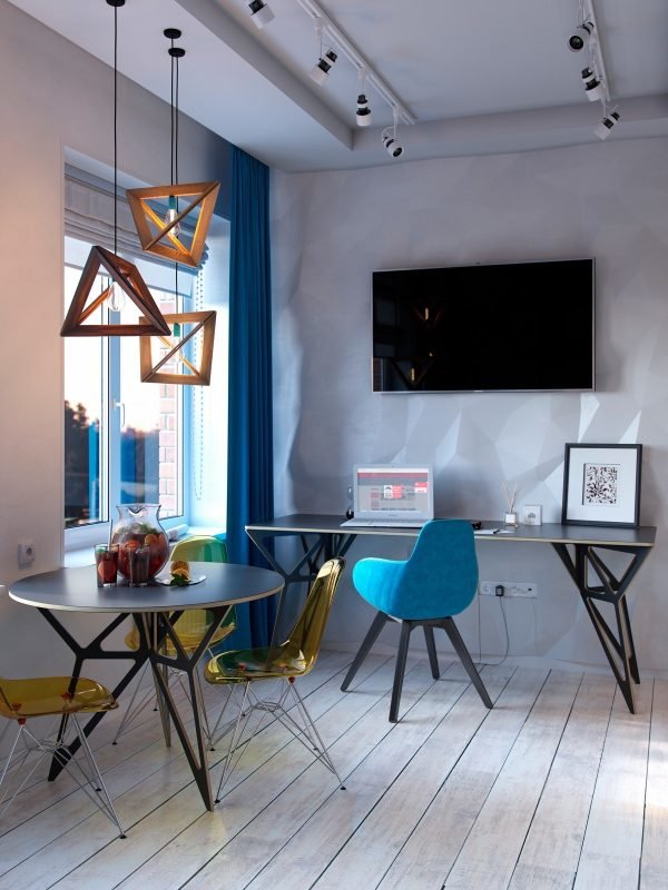 Bold Decor In Small Spaces: 3 Homes Under 50 Square Meters – Home info
