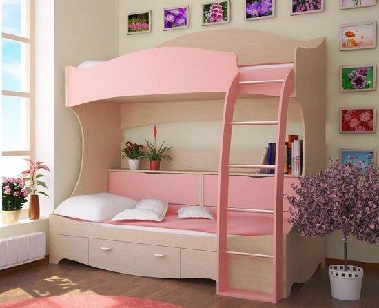 детская мебель двухъярусные кровати преимущества детских