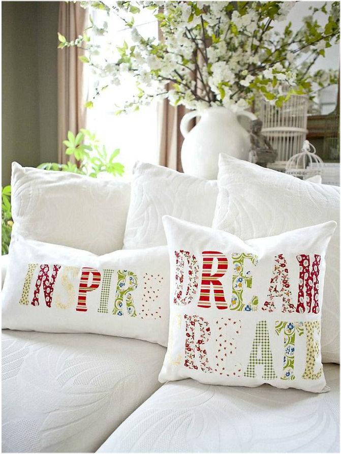 Декоративные подушки своими руками мастер класс схемы фото 816