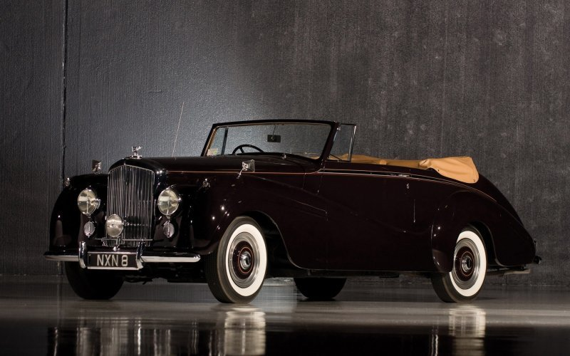 Bentley R-Type Drophead Coupe by Park Ward '1953