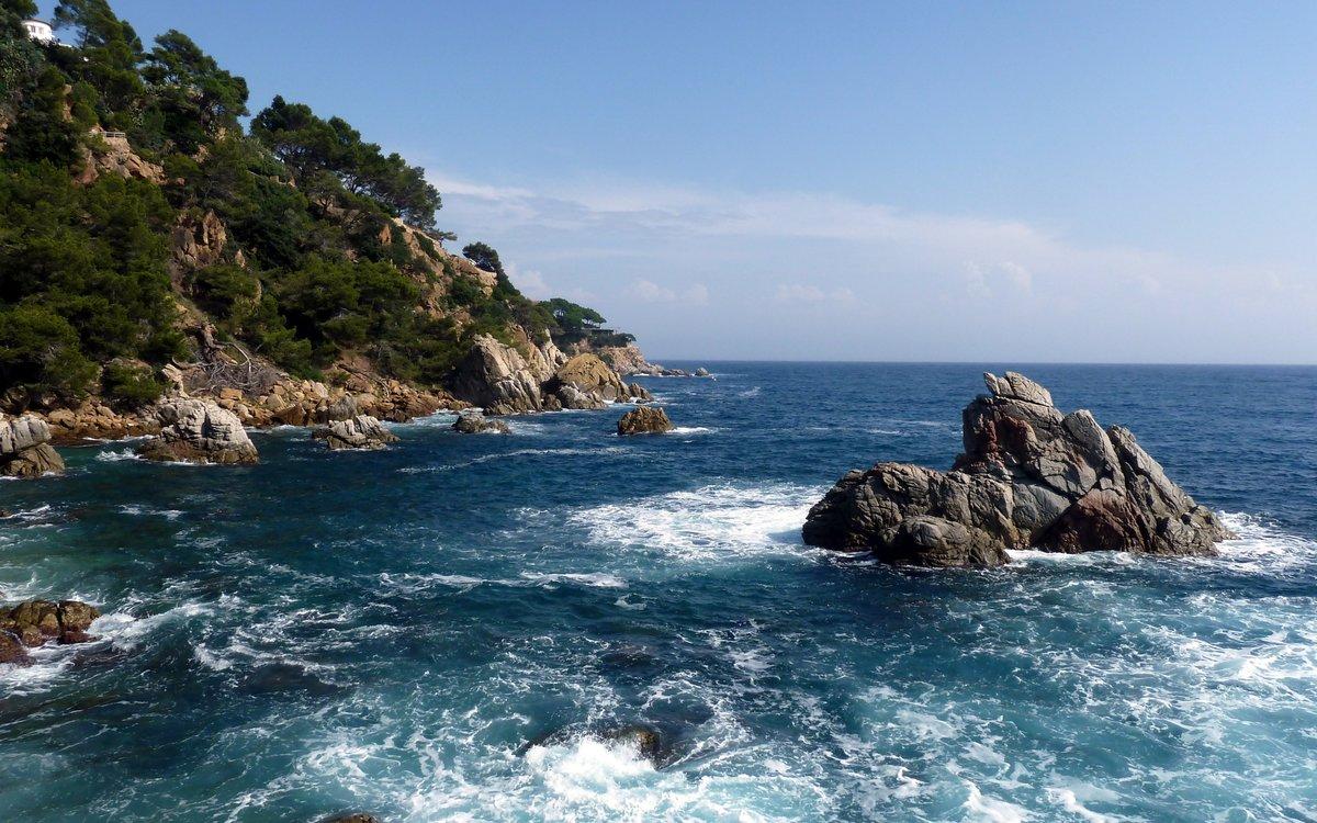 Красивое море картинки фото, технике