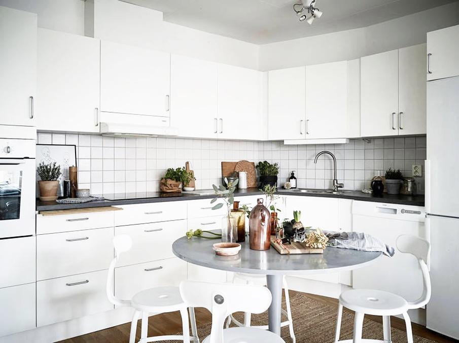 кухня в скандинавском стиле это аккуратность и сдержанность такая
