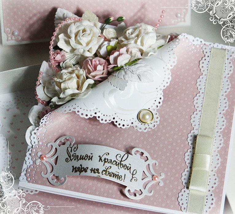 Открытки скрап с фото на свадьбу