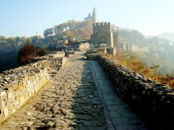 Крепость Царевец в Велико-Тырново