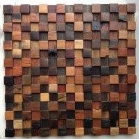 Operadekora.ru купить деревянная мозаика в интерьере напольная плитка ванная мозаика из ракушки перламутра раковина моренный тик к