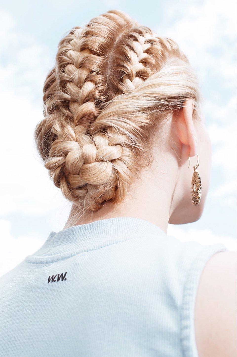 колоски для средних волос с картинками