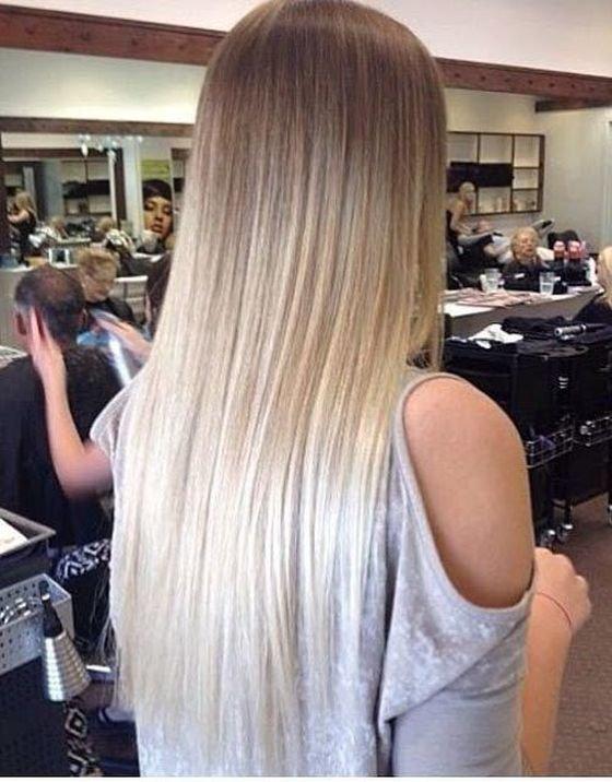омбре для русых волос фото
