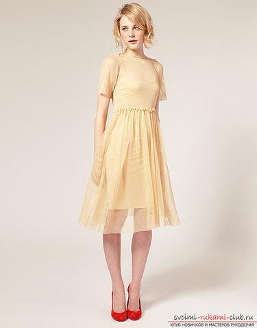 820554b0fcc 16 карточек в коллекции «Модные платья в пастельных тонах ...