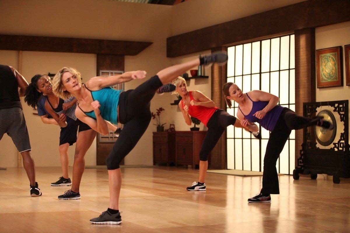 Тренировка для похудения по боксу