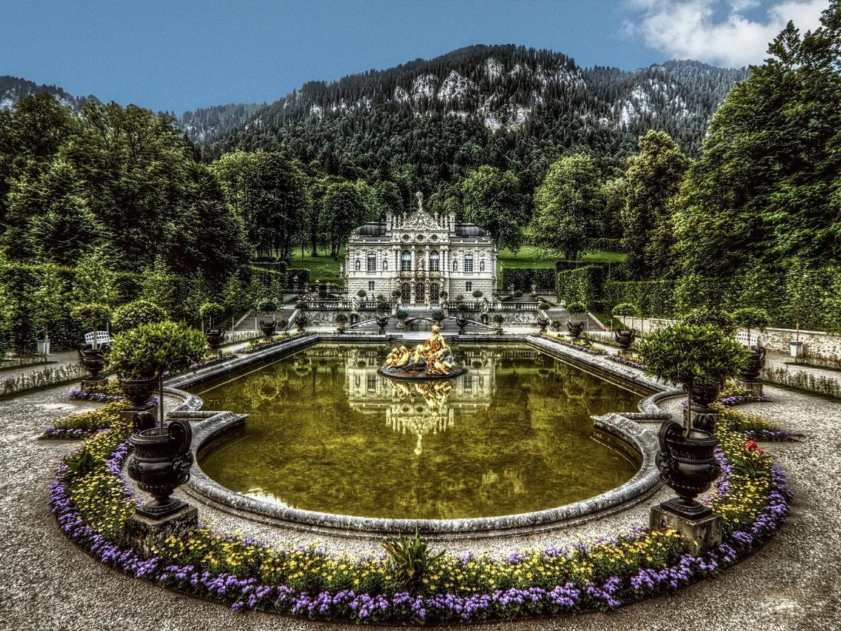 Шикарные дворцы картинки