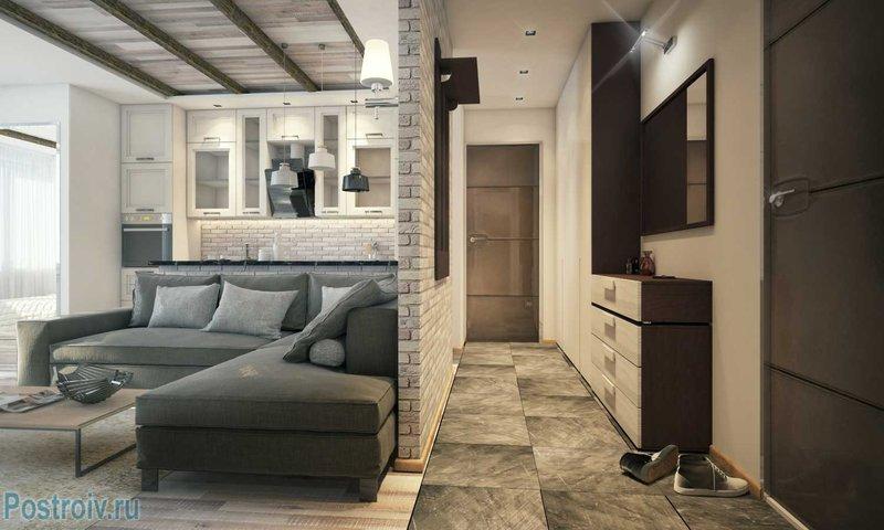 Дизайн однокомнатной квартиры 40 кв м Лучшие интерьеры