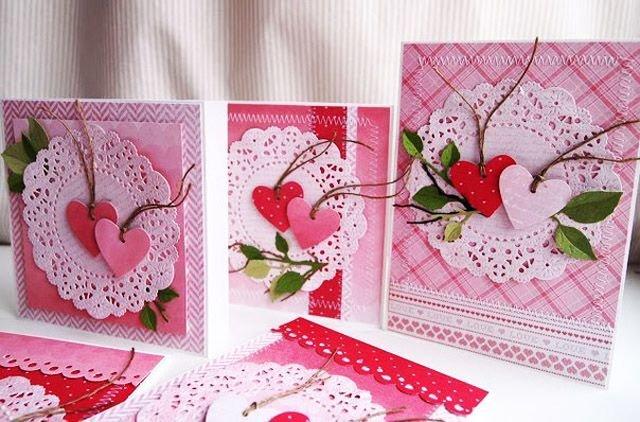 Февраля садик, открытки на 14 февраля своими руками скрапбукинг