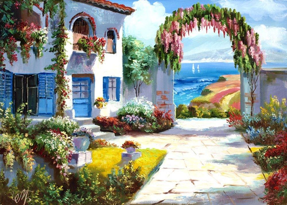 пирог чаю дворики средиземноморья картинки утепления отделки дома