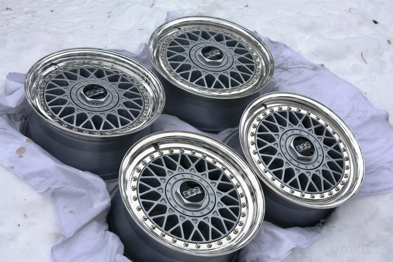 BBS RM 012 Silver Metalic
