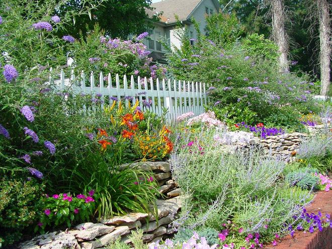 Как сделать свой сад своими руками фото