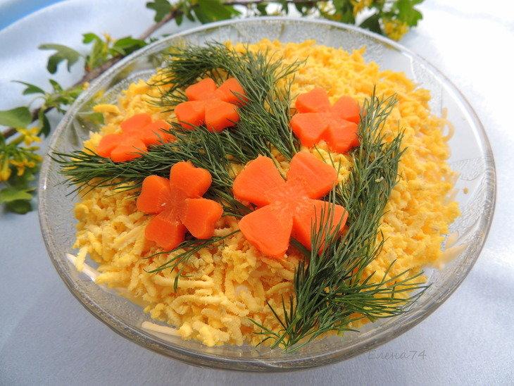Рецепты салат с консервированным лососем пошаговый с фото