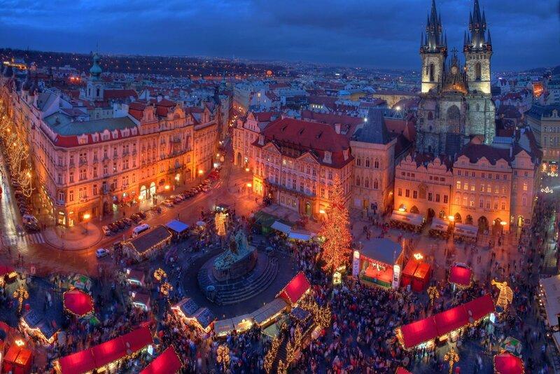 Ярмарки Європи найкращий вид відпочинку взимку