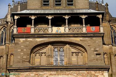 ахенский собор ворота