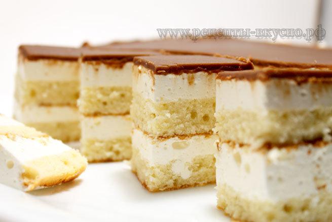 Птичье молоко торт дома фото