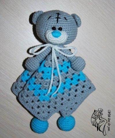 Комфортер мишка Тедди