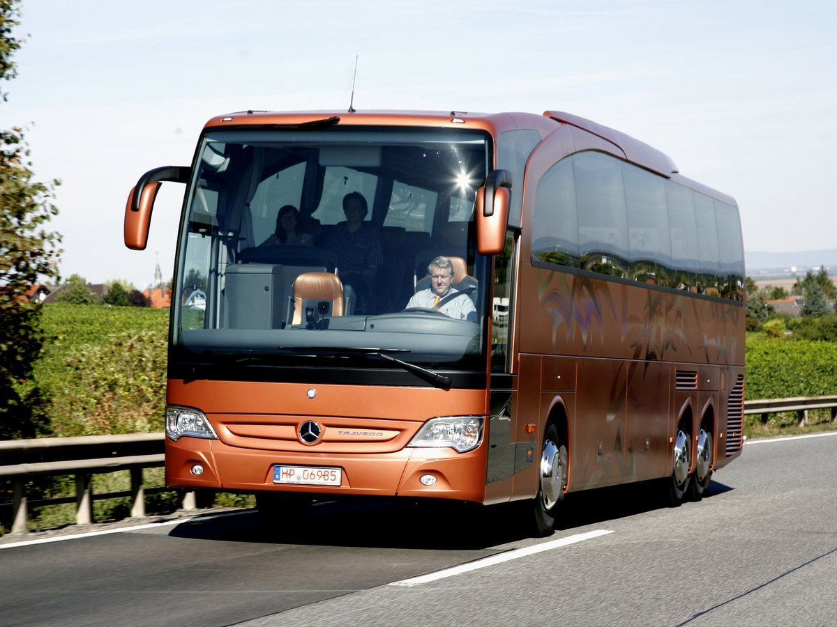 Автобусы мерседес фото