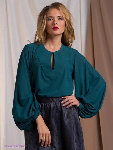 d16070881b7 42 карточки в коллекции «Женская блузка с пышными рукавами ...