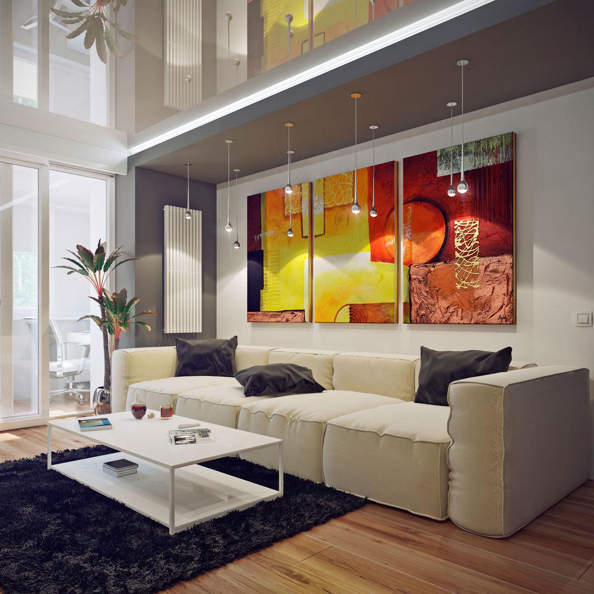 Картинки с интерьером гостиной, улыбки гифка