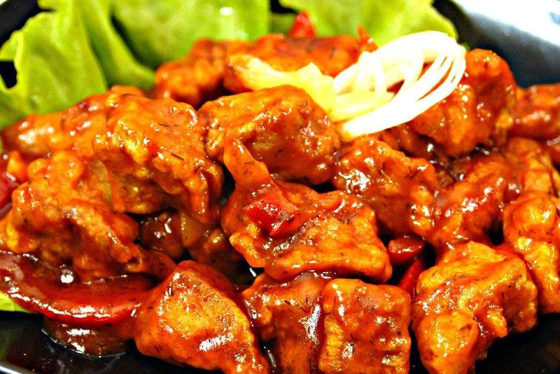 Мясо габаджоу рецепт с фото