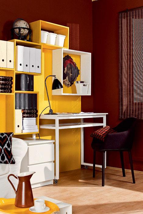 Подборка маленьких домашних офисов