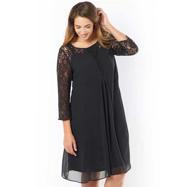 9af20d655cd ... Кружево и шифон в платье для полных девушек. Длина-100 см. можно  недорого
