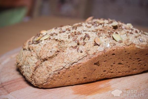 Ржаной хлеб с отрубями в хлебопечке рецепт