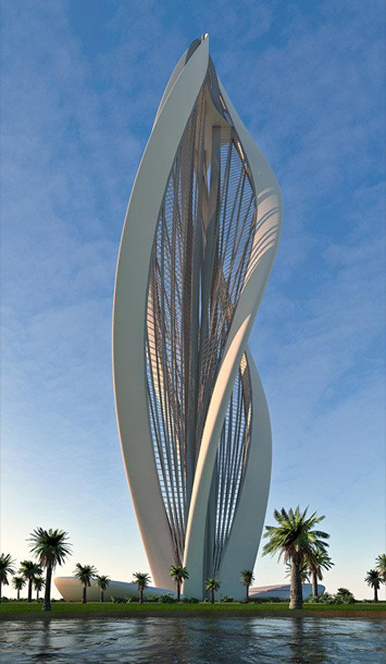 Расцветающий Дубай» — проект небоскреба от Petra Architects ... «Расцветающий Дубай» — проект небоскреба от Petra Architects.