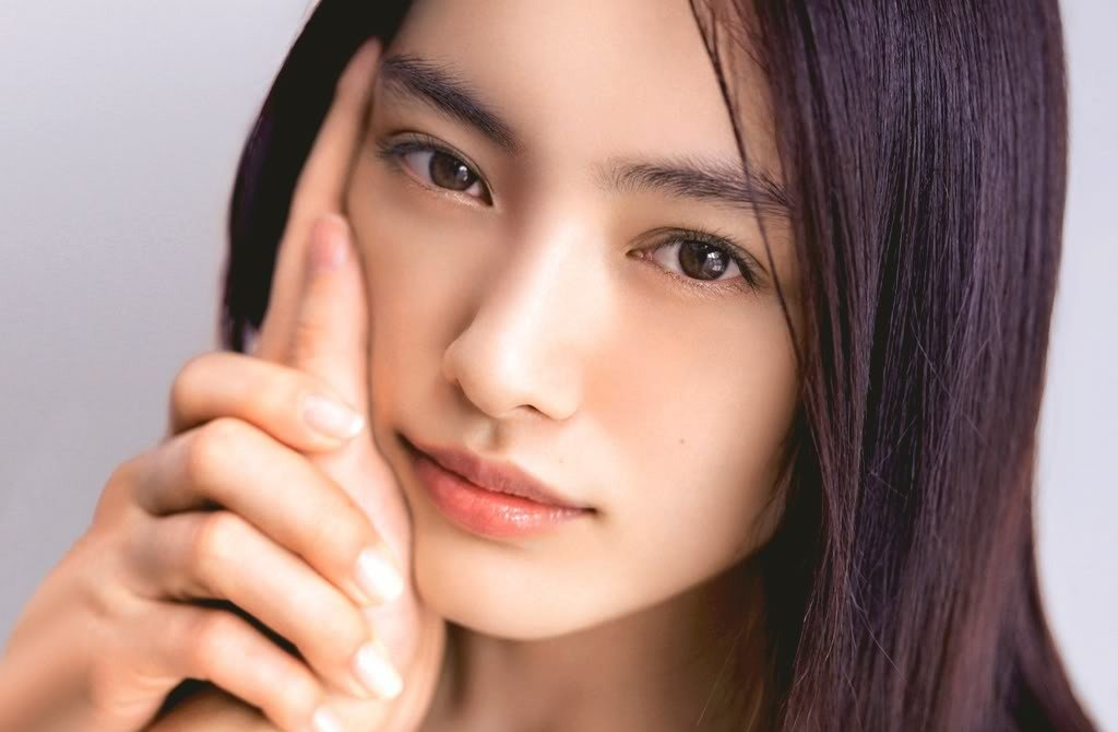 фото лиц японских девушек все