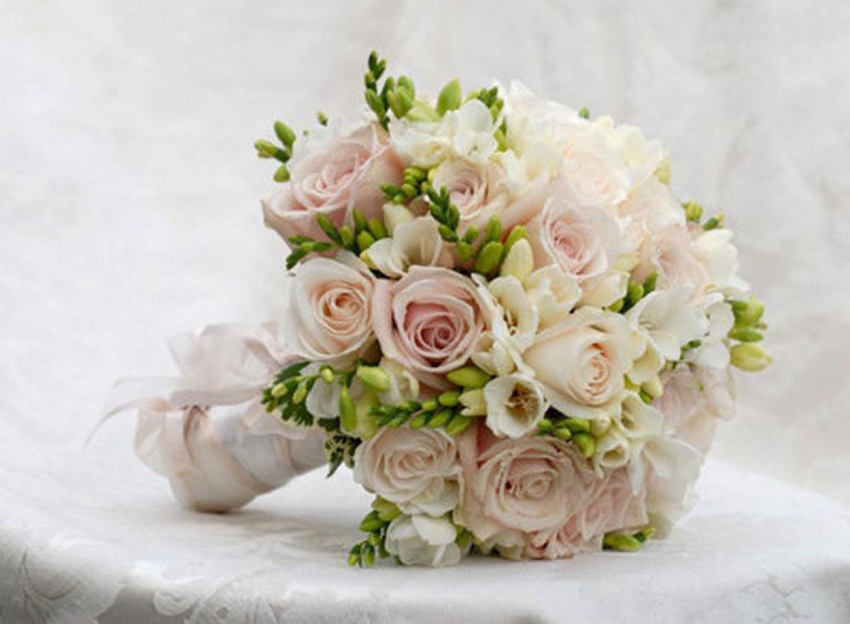 Букет невесты, свадебный букет невесты заказать 74
