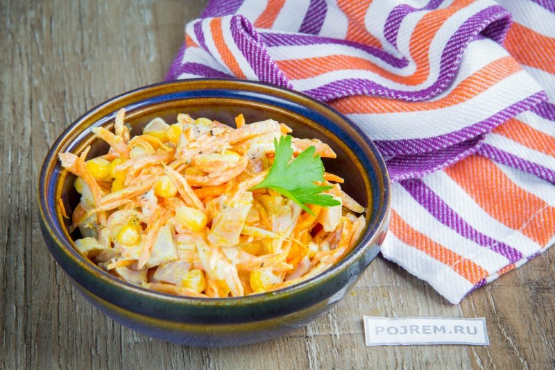 Корейская морковка простой рецепт в домашних условиях