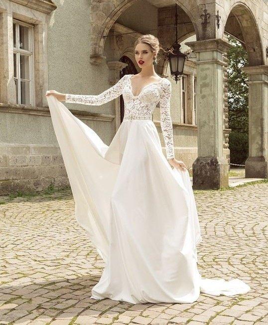 3c4e6331b5e Крутые свадебные платья с рукавами от дизайнеров Крутые свадебные платья с  рукавами от дизайнеров