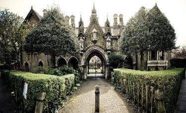 хайгейтское кладбище лондон highgate cemetery