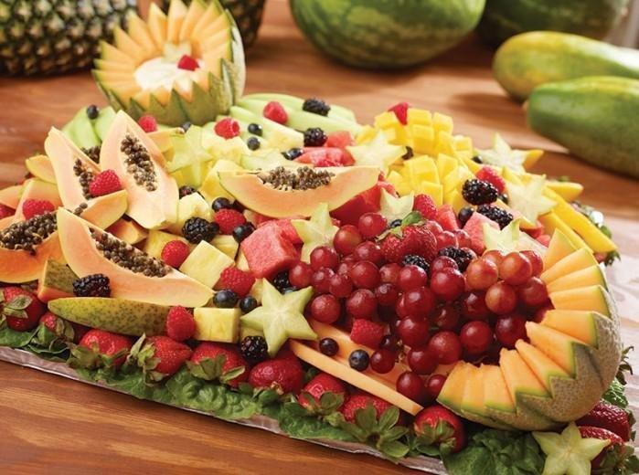 фрукты целиком положить красиво фото